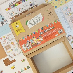 ACTIVITY BOX CRETIVA EDUCATIVA PER BAMBINI 4+