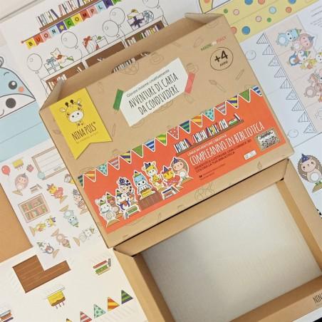 ACTIVITY BOX CRETIVA EDUCATIVA PER BAMBINI 4+