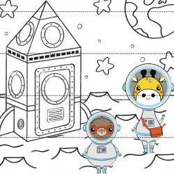 Crea il tuo puzzle spaziale